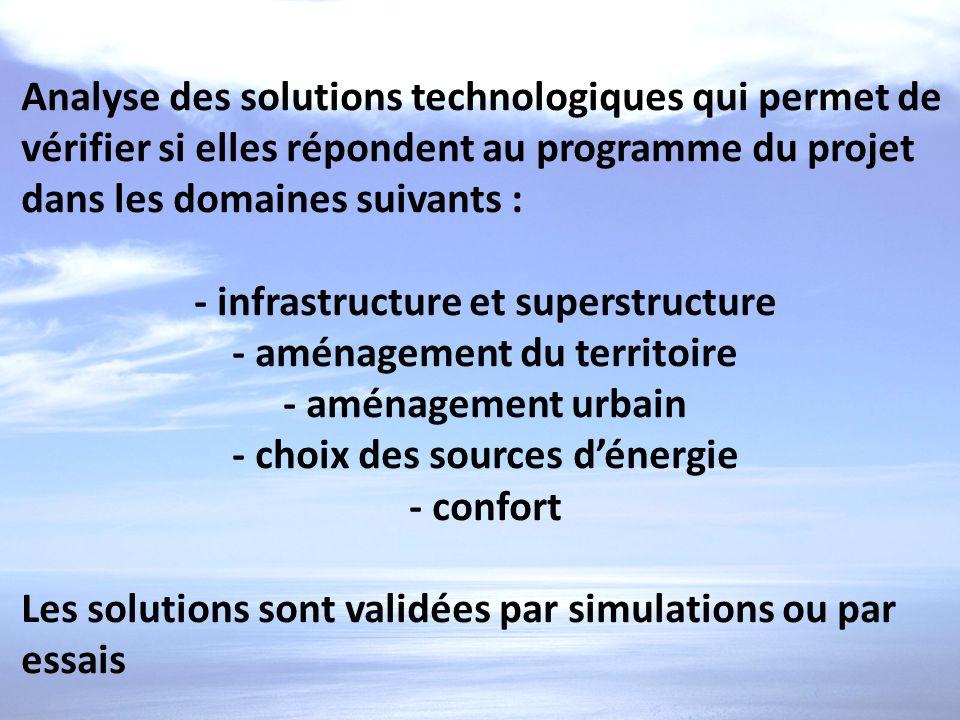- infrastructure et superstructure - aménagement du territoire