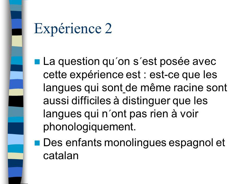 Expérience 2