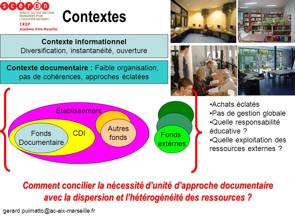 Contexte informationnel