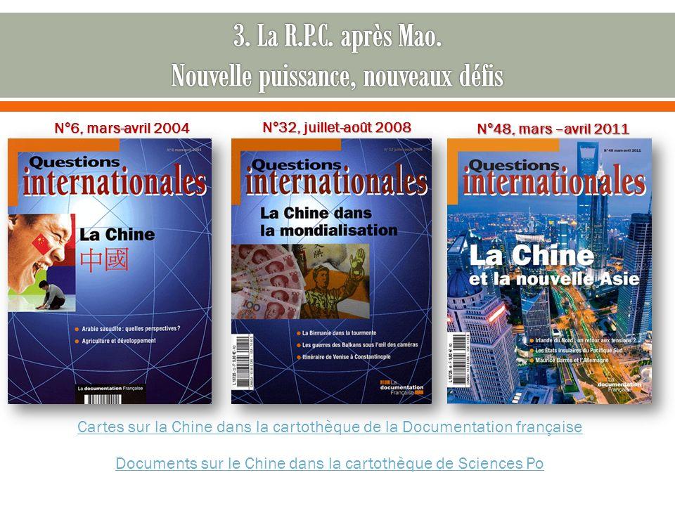 3. La R.P.C. après Mao. Nouvelle puissance, nouveaux défis