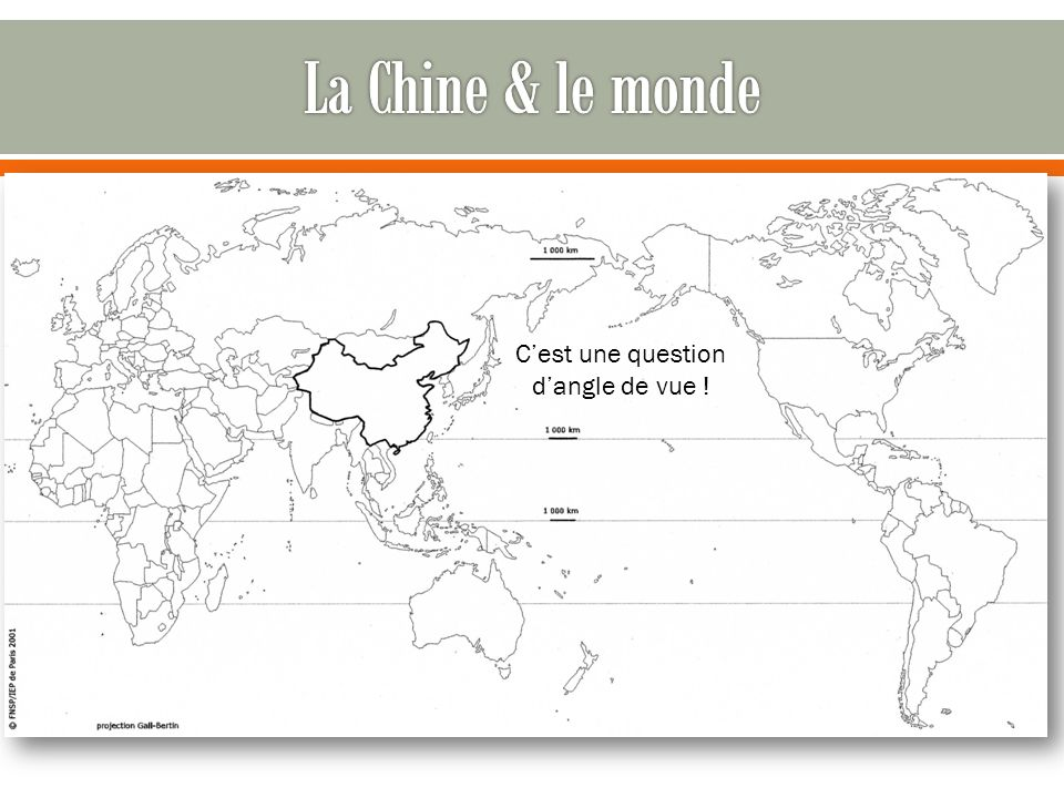 Zhong guo ou « pays du milieu »