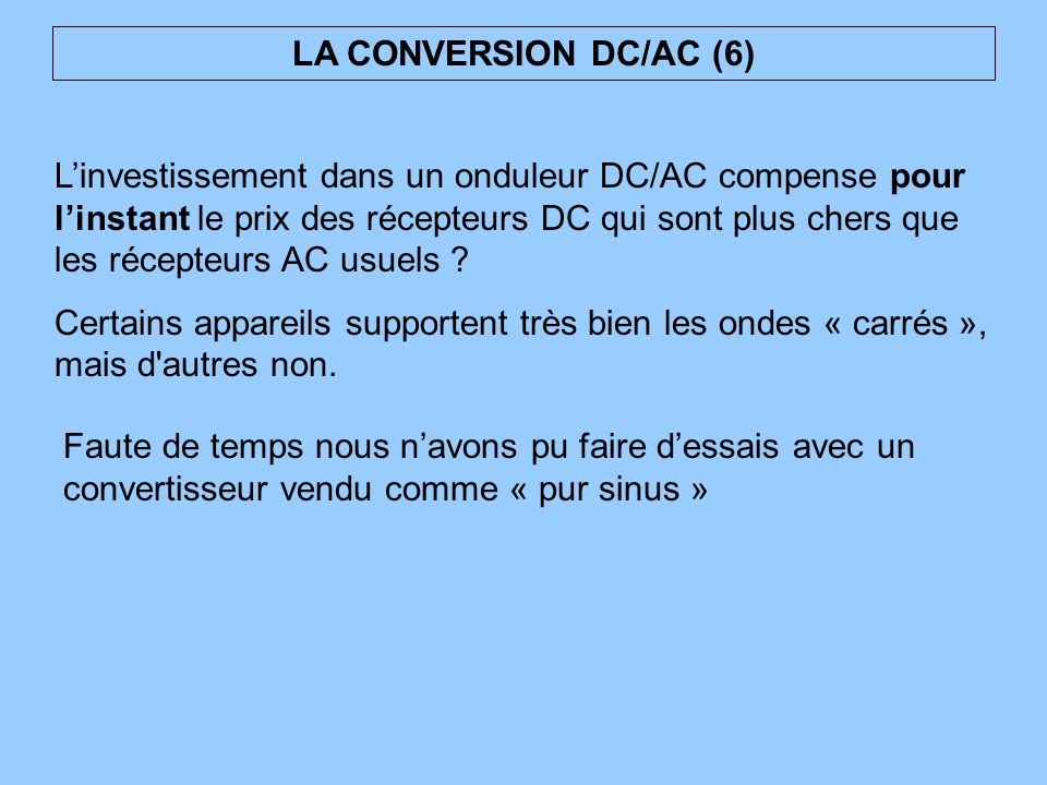 LA CONVERSION DC/AC (6)