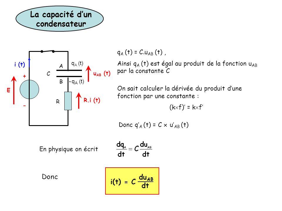 calcul d un condensateur  u2013 capteur photo u00e9lectrique