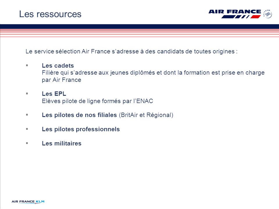 air france perspectives de recrutement s u00e9lection pilotes