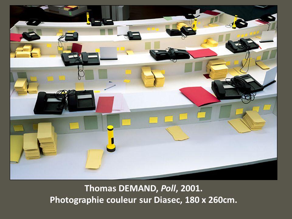 Photographie couleur sur Diasec, 180 x 260cm.
