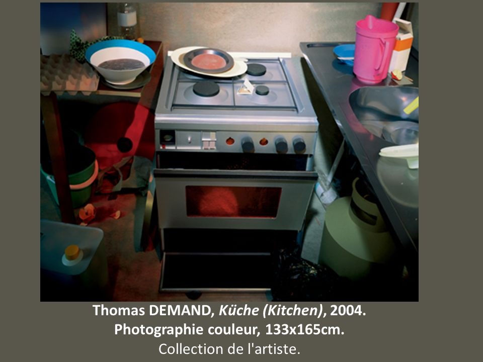 Thomas DEMAND, Küche (Kitchen), 2004.