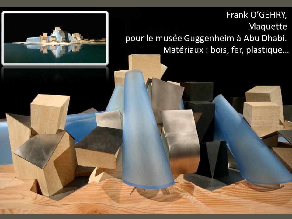 pour le musée Guggenheim à Abu Dhabi.