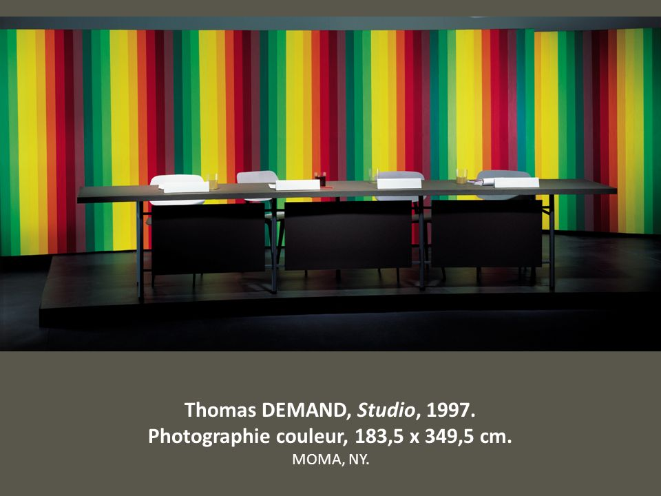 Photographie couleur, 183,5 x 349,5 cm.
