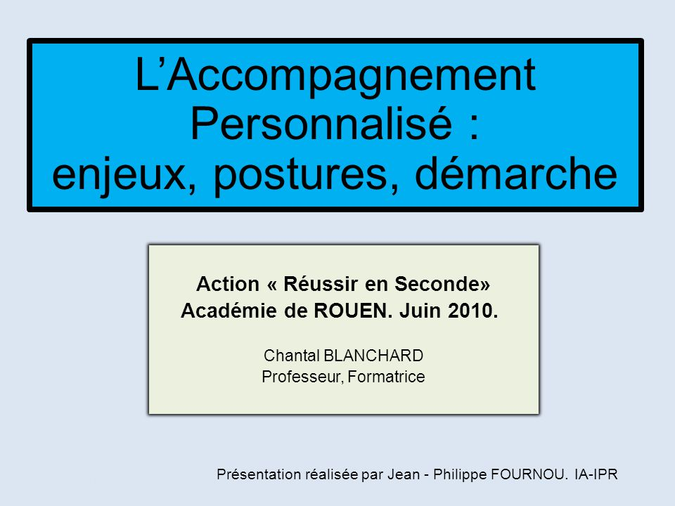 Action « Réussir en Seconde»
