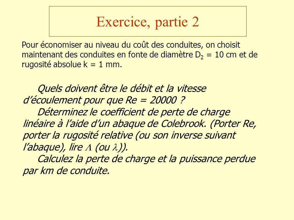 Exercice, partie 2