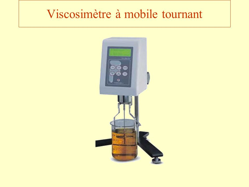 Viscosimètre à mobile tournant