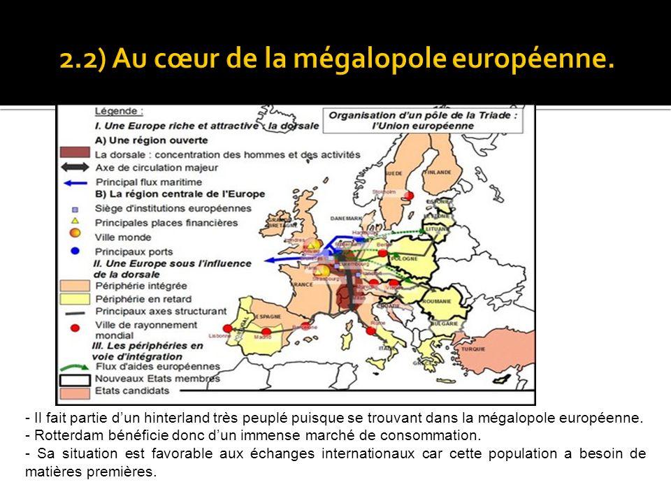 2.2) Au cœur de la mégalopole européenne.