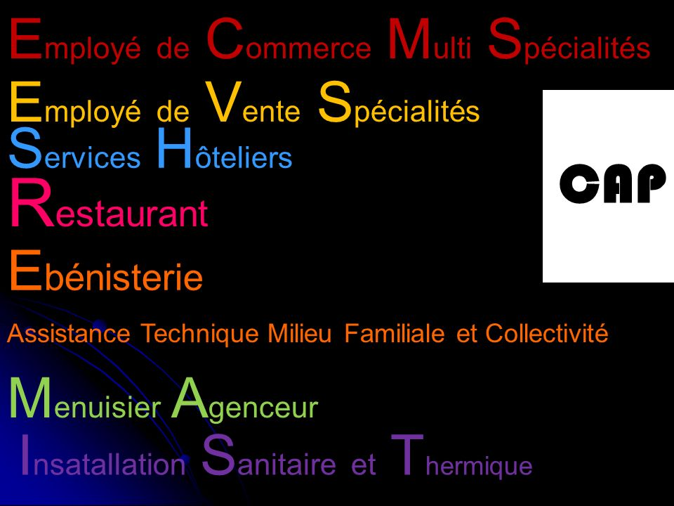 Restaurant Employé de Commerce Multi Spécialités