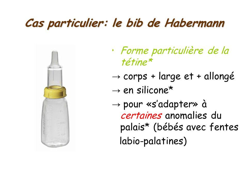 Cas particulier: le bib de Habermann