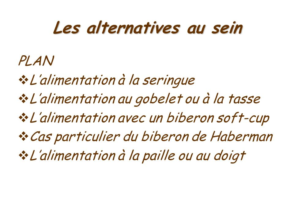 Les alternatives au sein