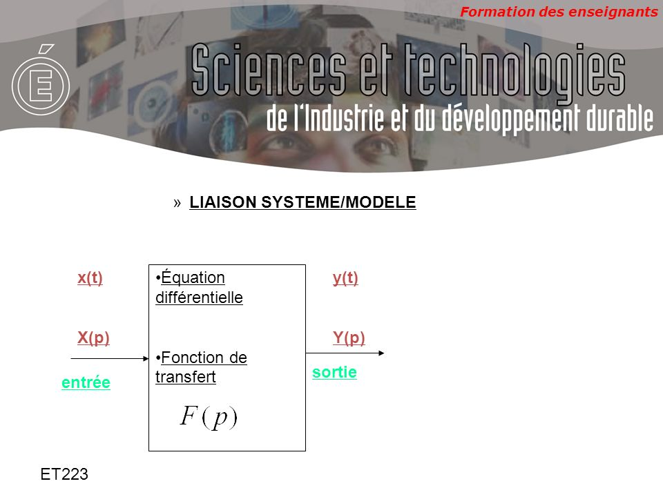 LIAISON SYSTEME/MODELE