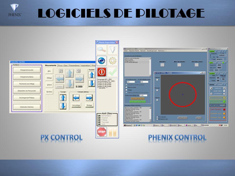 LOGICIELS DE PILOTAGE PX CONTROL PHENIX CONTROL
