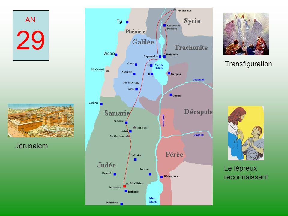 29 AN Transfiguration Jérusalem Le lépreux reconnaissant
