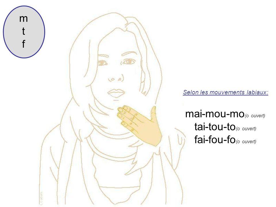 m t f mai-mou-mo(o ouvert) tai-tou-to(o ouvert) fai-fou-fo(o ouvert)