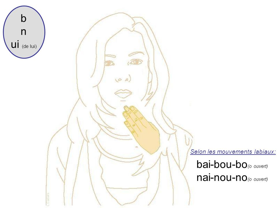 b n ui (de lui) bai-bou-bo(o ouvert) nai-nou-no(o ouvert)