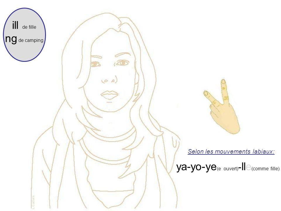 ya-yo-ye(e ouvert)-lle(comme fille)