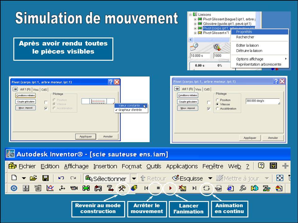 Simulation de mouvement