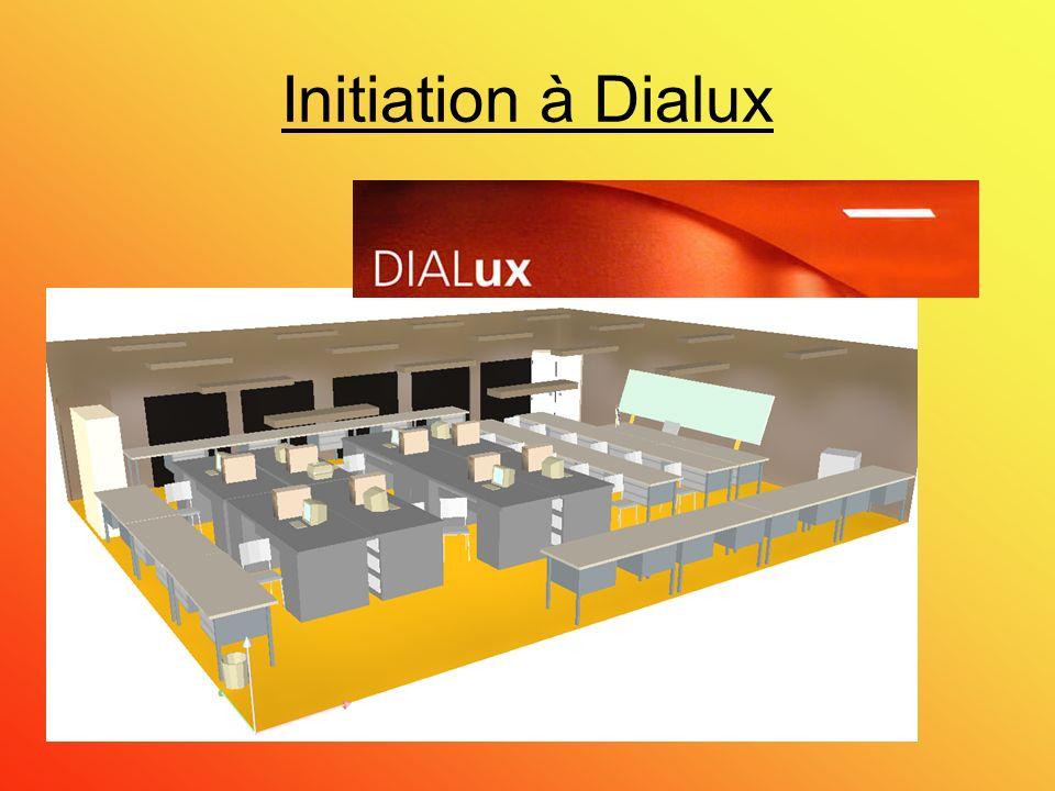 Initiation à Dialux
