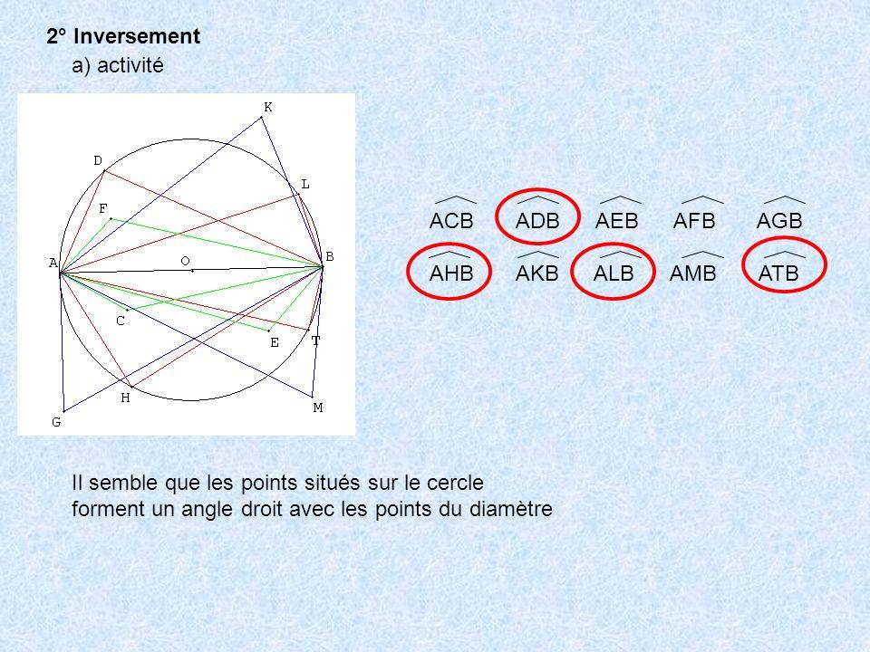 2° Inversement a) activité. ACB ADB AEB AFB AGB. AHB AKB ALB AMB ATB.