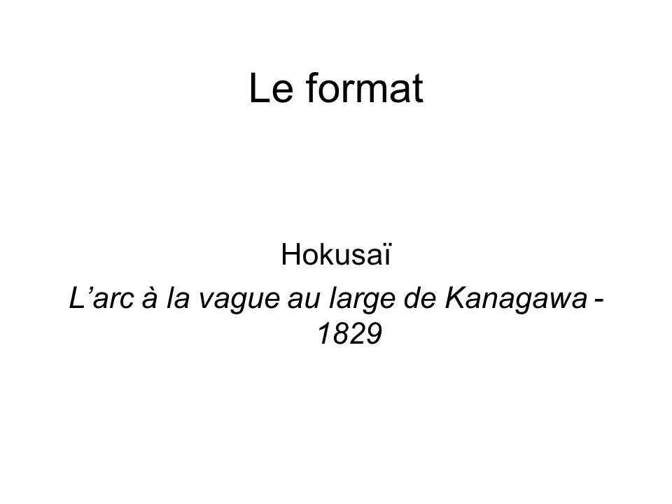 L'arc à la vague au large de Kanagawa - 1829