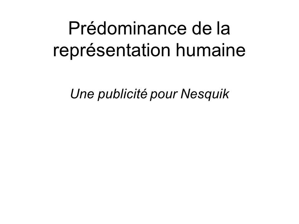 Prédominance de la représentation humaine