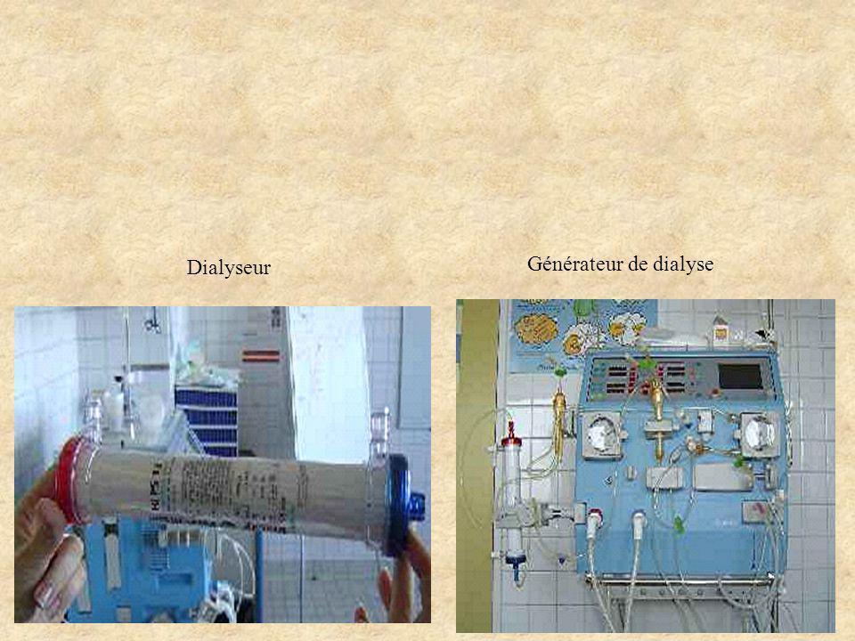 Dialyseur Générateur de dialyse