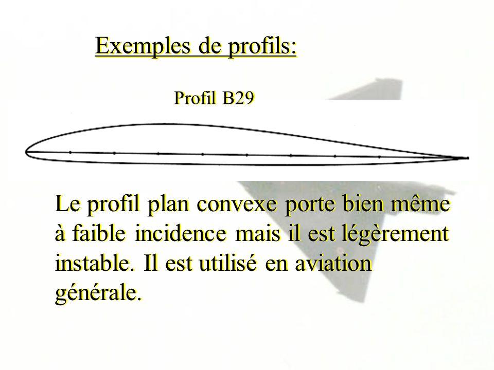 Exemples de profils: Profil B29.