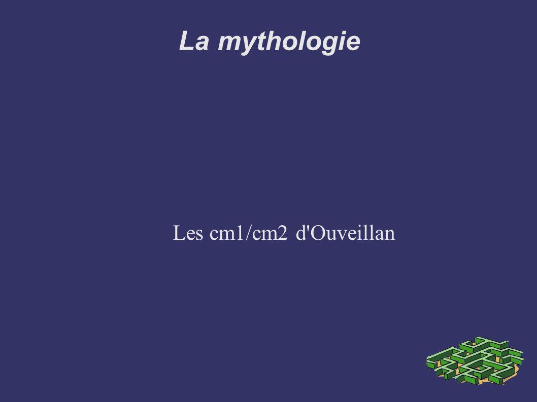 La mythologie Les cm1/cm2 d Ouveillan