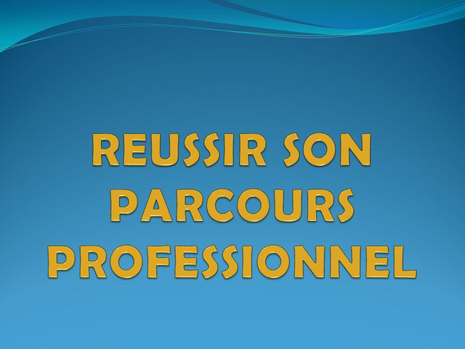 REUSSIR SON PARCOURS PROFESSIONNEL