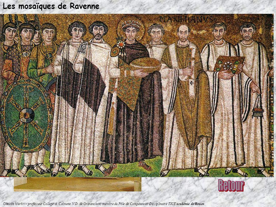 Retour Les mosaïques de Ravenne Dans quel monument de la ville