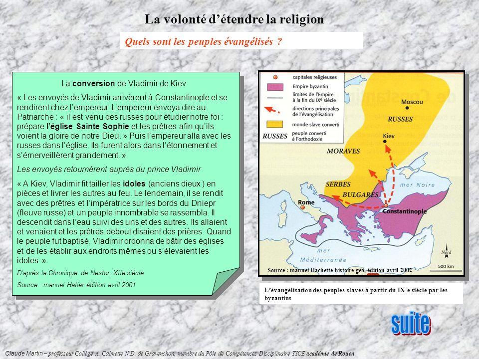 La conversion de Vladimir de Kiev