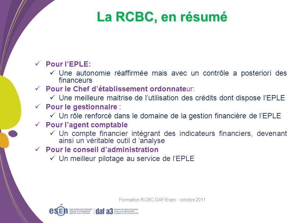 Formation RCBC DAF/Esen - octobre 2011