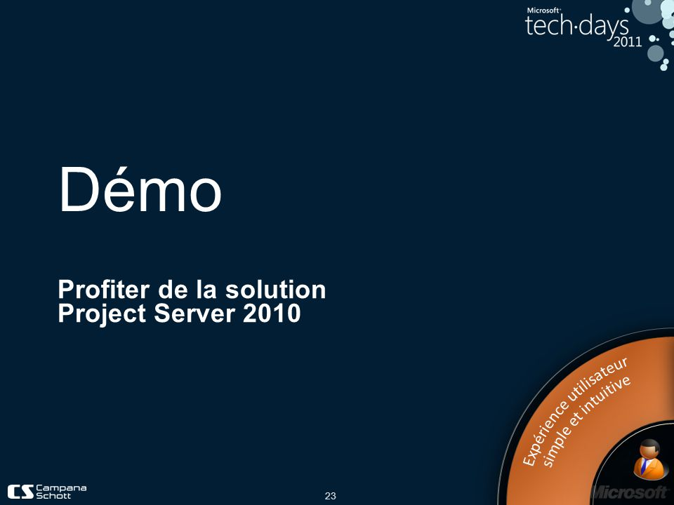 Profiter de la solution Project Server 2010