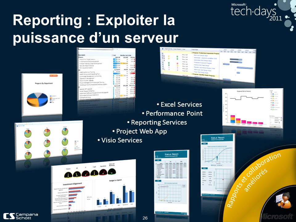 Reporting : Exploiter la puissance d'un serveur