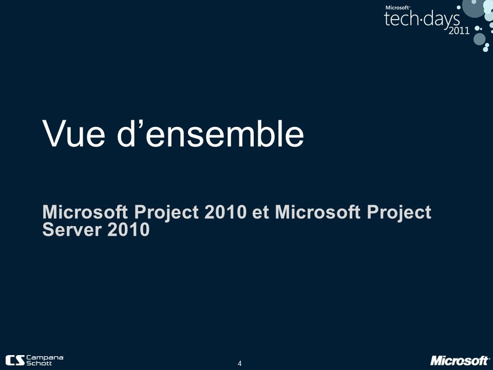 Microsoft Project 2010 et Microsoft Project Server 2010