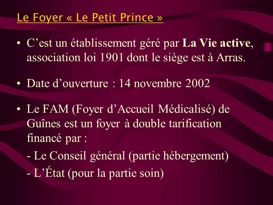 Le Foyer « Le Petit Prince »