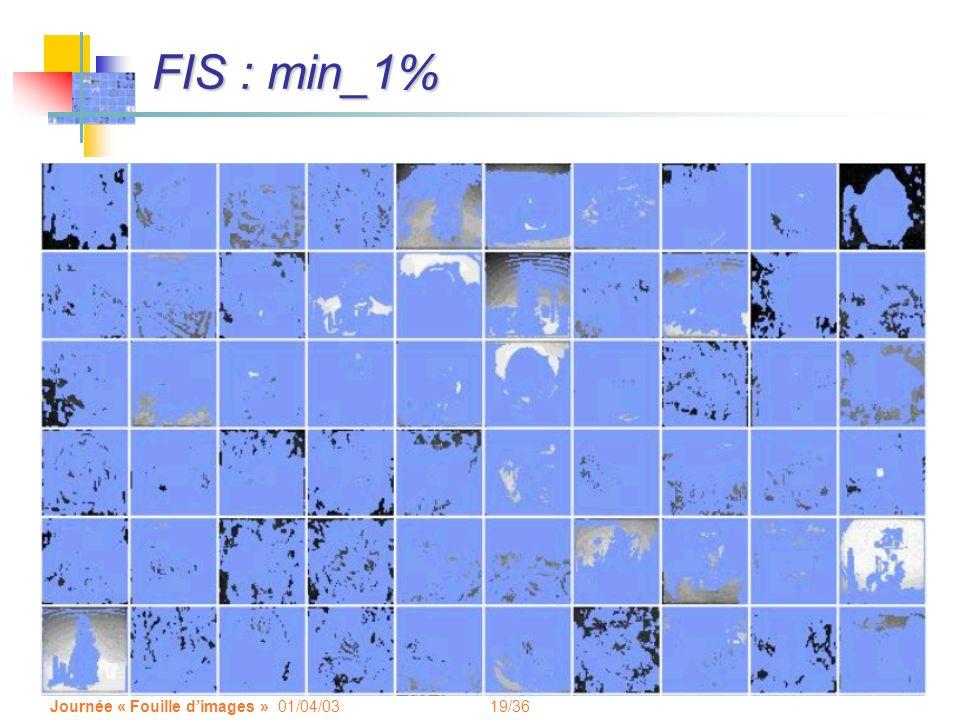 FIS : min_1% Journée « Fouille d'images » 01/04/03