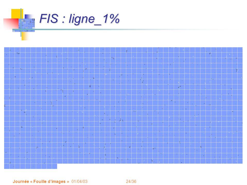 FIS : ligne_1% Journée « Fouille d'images » 01/04/03