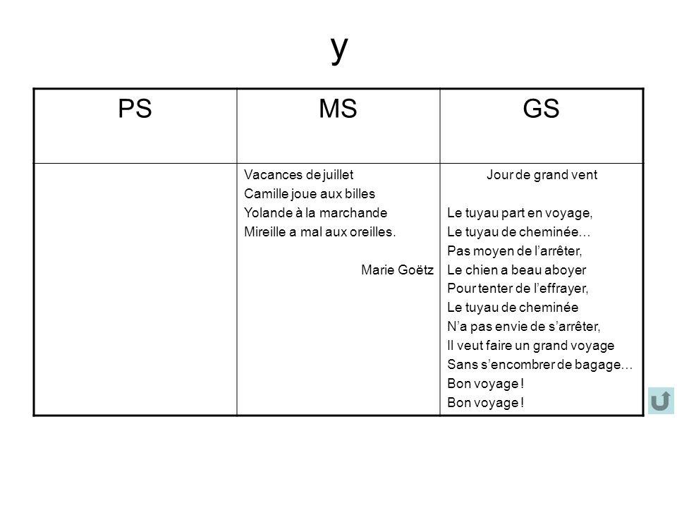 y PS MS GS Vacances de juillet Camille joue aux billes
