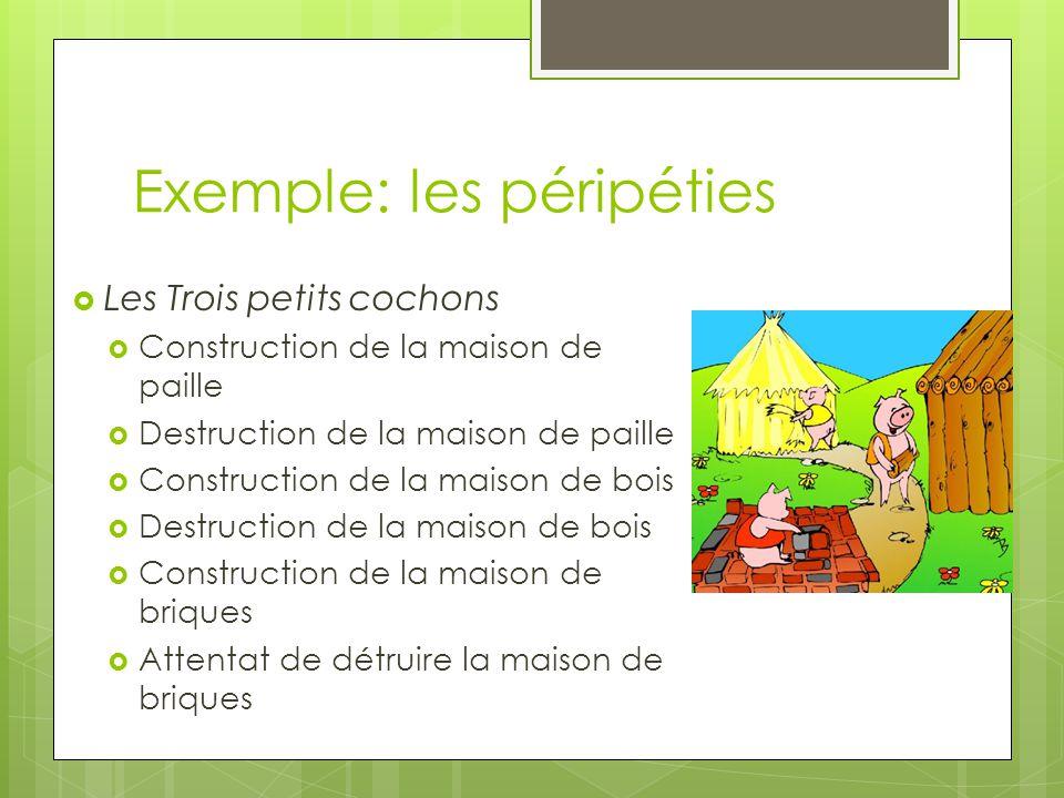 Exemple: les péripéties