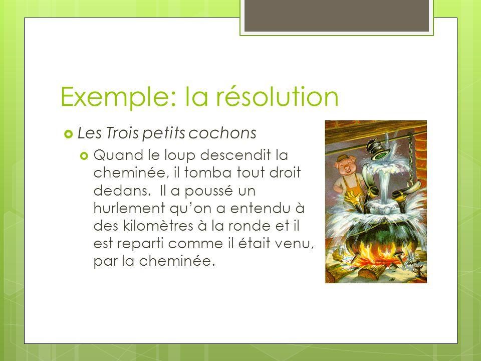 Exemple: la résolution
