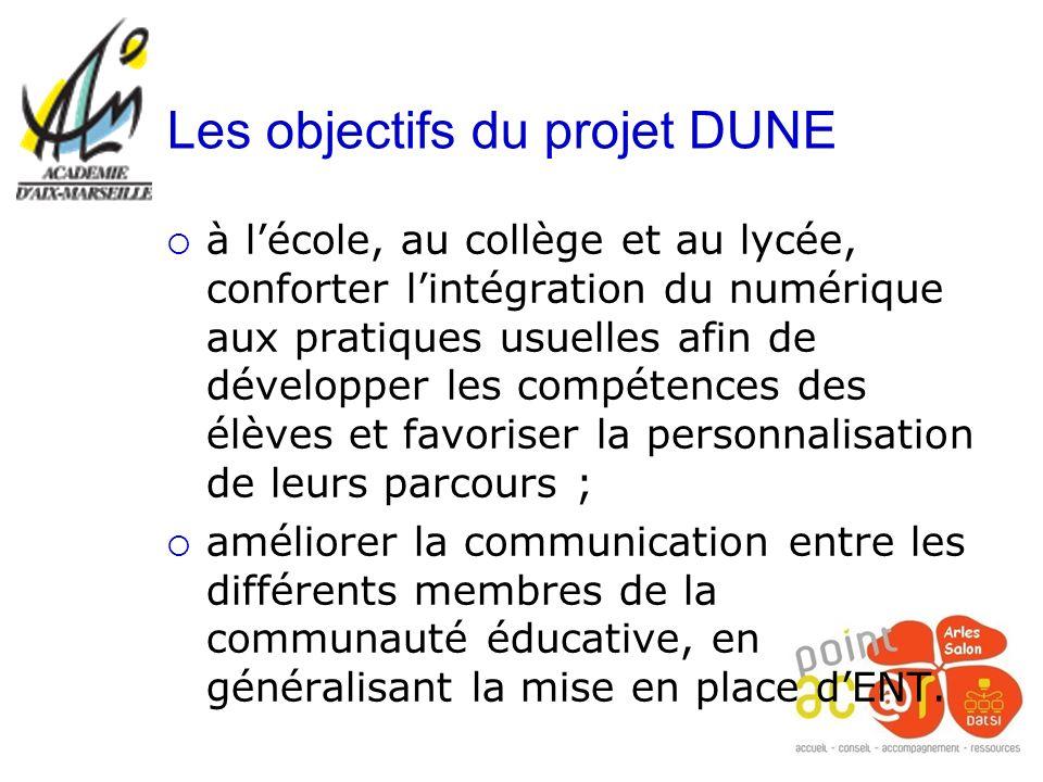 Les objectifs du projet DUNE