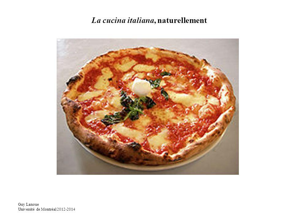 La cucina italiana, naturellement