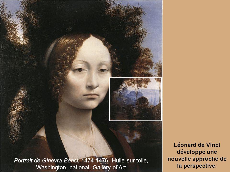 Léonard de Vinci développe une nouvelle approche de la perspective.