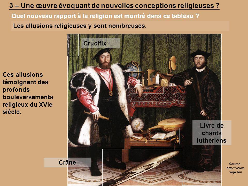 Livre de chants luthériens Source : http://www.wga.hu/